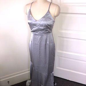 Forever21 long silk dress